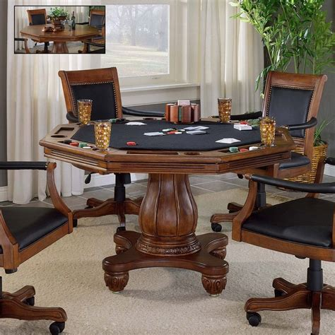 Cherry Wood Poker Tables