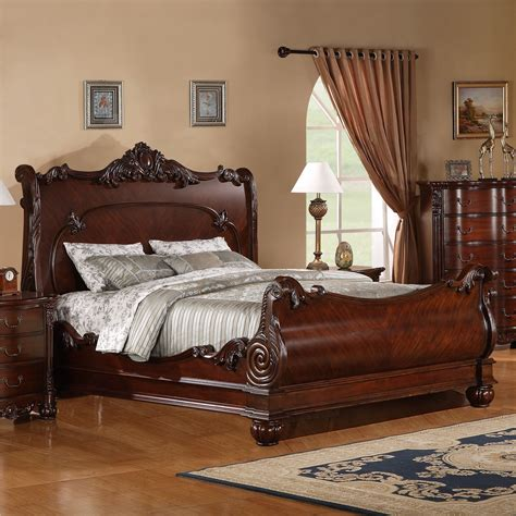Cherry-Sleigh-Bed-Plans