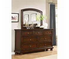 Best Cherry dresser mirror