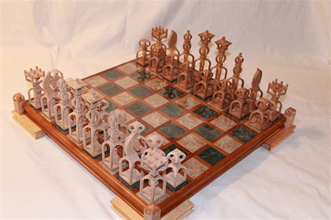 Chess Set 3d Scroll Saw