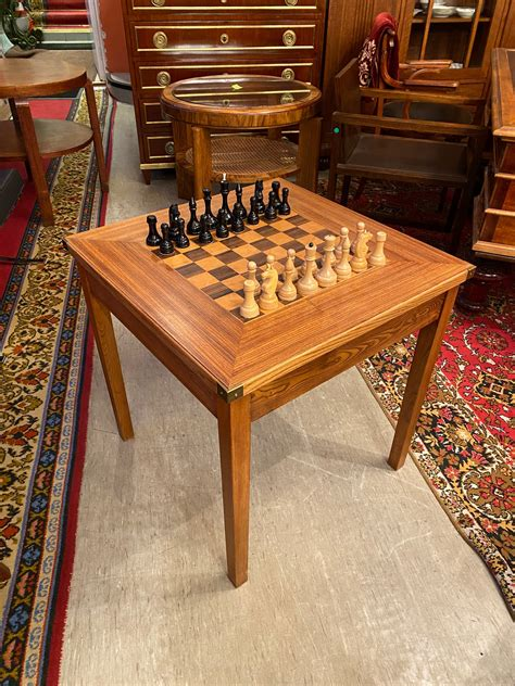 Chess Table Woodworking Plans