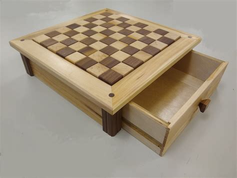 Chess-Board-With-Drawer-Plans
