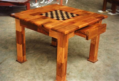 Chess-Table-Design-Plans