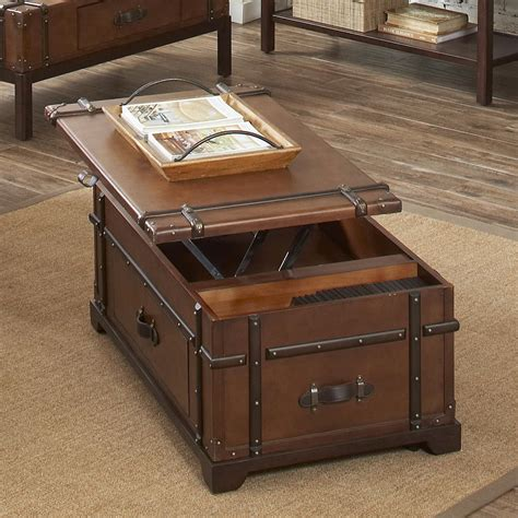 Chest Coffee Table With Lift Top Plans