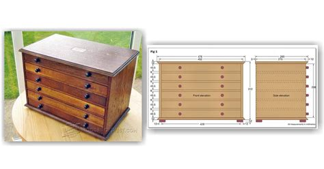 Chest-Of-Drawers-Design-Plans