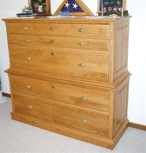 Chest-Of-Drawers-With-Hidden-Gun-Cabinet-Plans