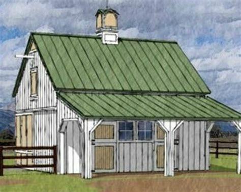 Chestnut-Horse-Barn-Plans