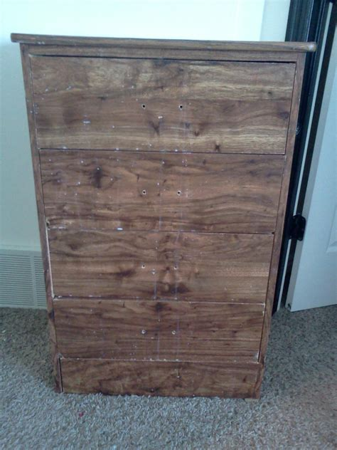 Chevron Diy Dresser