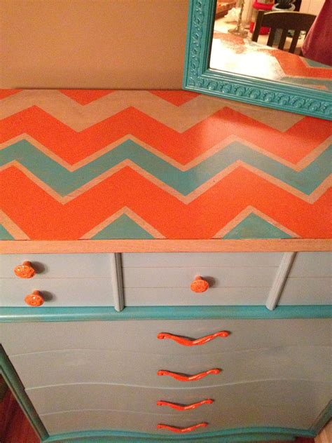 Chevron Furniture Diy