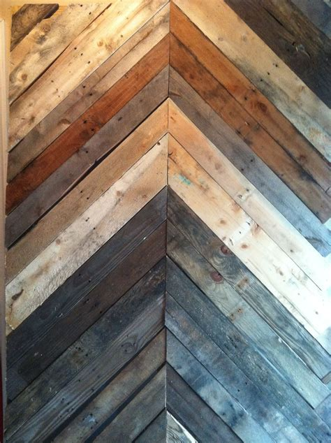 Chevron Wood Wall Diy Pinterest