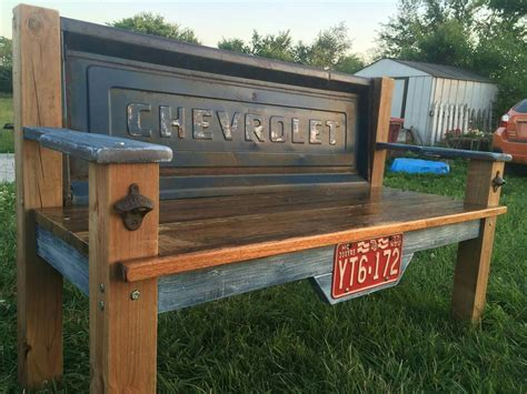 Chevy Tailgate Bench Plans