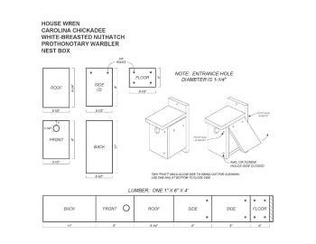 Chicadee-Nest-Box-Plans