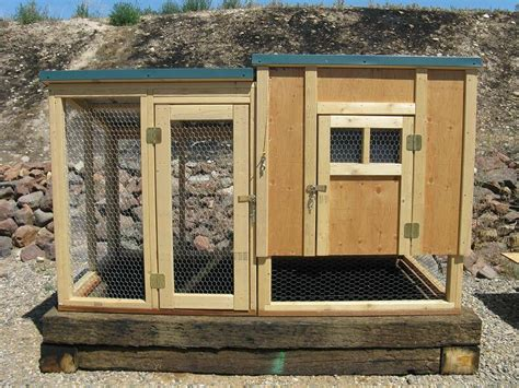 Chicken Coop And Run Plans And Material List