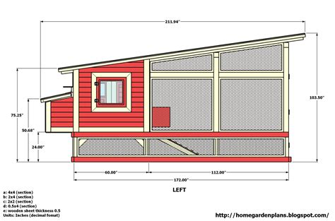 Chicken Coop Base Floor Plans