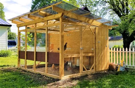Chicken Coop Pen Plans