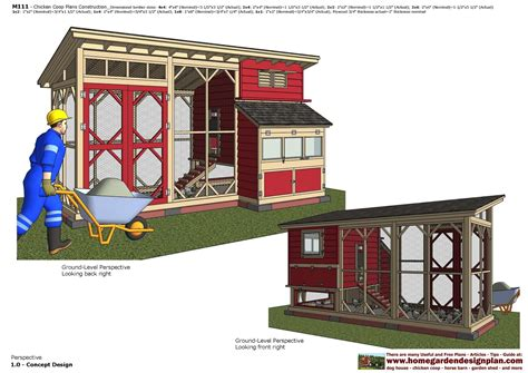 Chicken House Plans For 15 Chickens