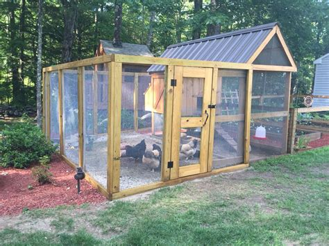 Chicken Run Building Plans