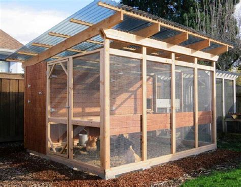 Chicken Run Plans Ideas