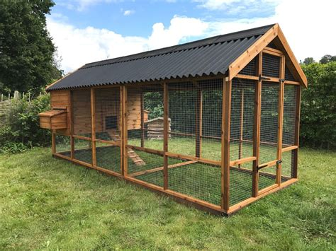 Chicken Run Plans Use Tarps For Roofs