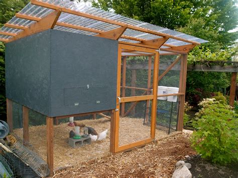 Chicken Run Plans With Roof