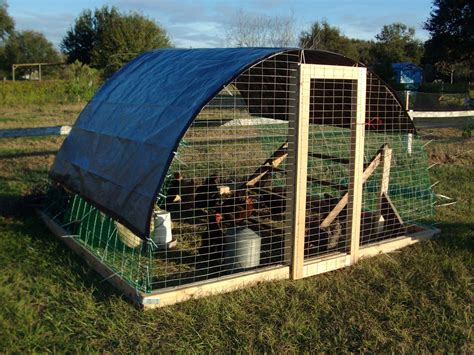 Chicken Tractor Hoop House Plans
