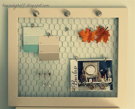 Chicken Wire Picture Frame Diy Pinterest