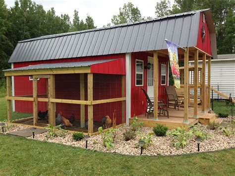 Chicken-Coop-And-Goat-Barn-Plans