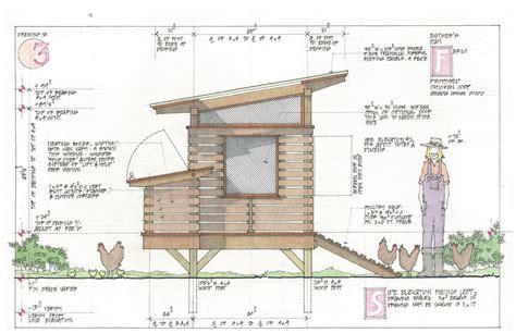Chicken-Coop-Drawing-Plan