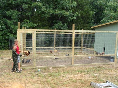 Chicken-Coop-Fencing-Plans