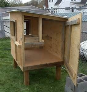 Chicken-Coop-On-Stilts-Plans