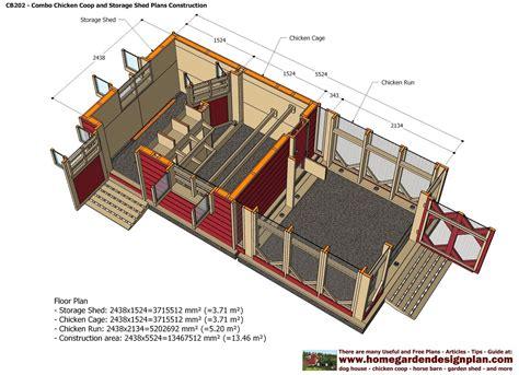 Chicken-Coop-Plans-With-Storage
