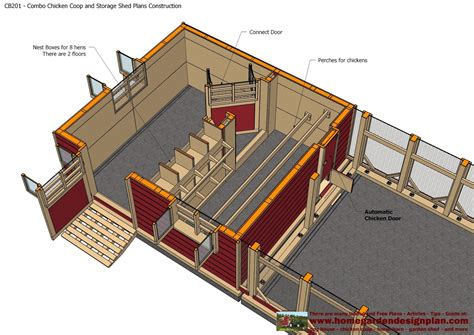 Chicken-Coop-Shed-Combo-Plans