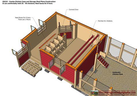 Chicken-Coop-Storage-Shed-Plans
