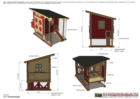 Chicken-House-Building-Plans-Free