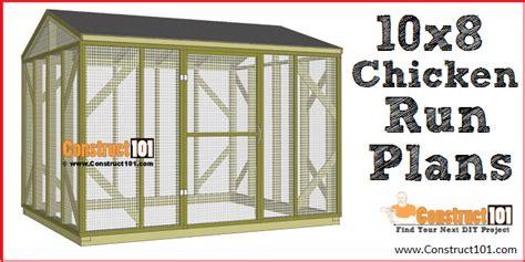 Chicken-Run-Diy-Free-Plans