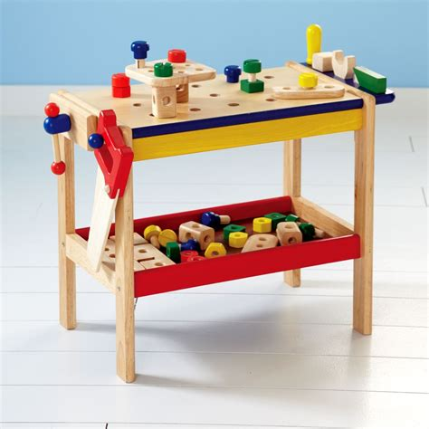 Child Work Bench And Tools