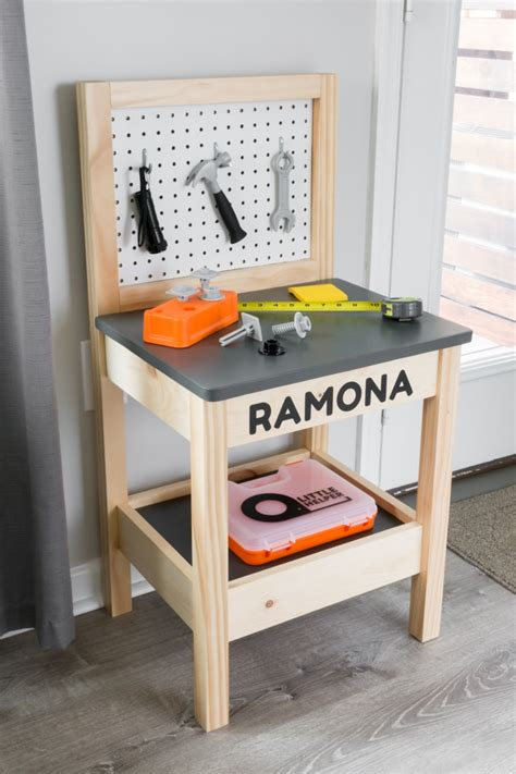Child Work Bench Plans