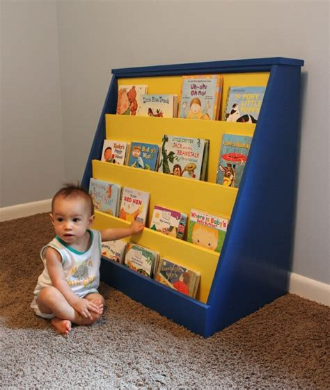 Childrens Book Rack Plans