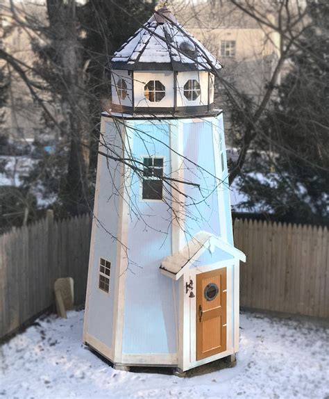 Childrens Lighthouse Playhouse Plans