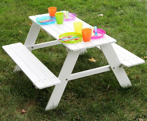 Childrens Picnic Table Diagram