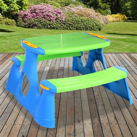 Childrens Picnic Table Plastic