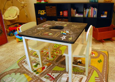 Childrens Play Table Diy