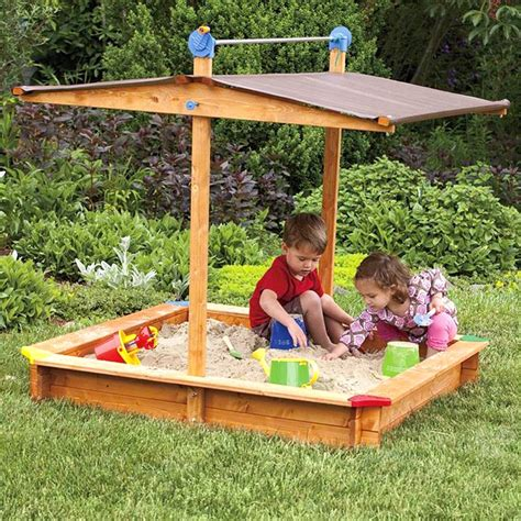 Childrens Sandboxes With Covers