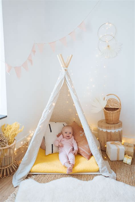 Childrens Teepee Tent Diy