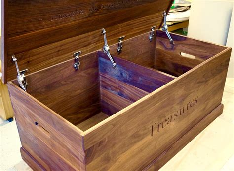 Childrens Wood Toy Boxes