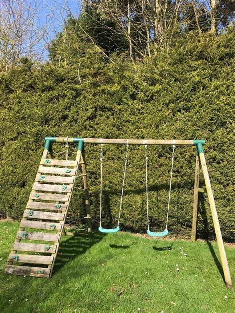 Childrens Wooden Climbing Frame Plans