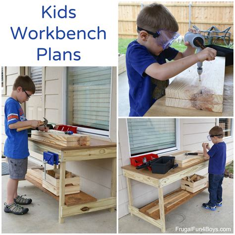 Childrens Woodworking Bench Plans