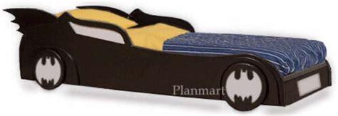 Childrens-Batman-Batmobile-Car-Bed-Woodworking-Plans