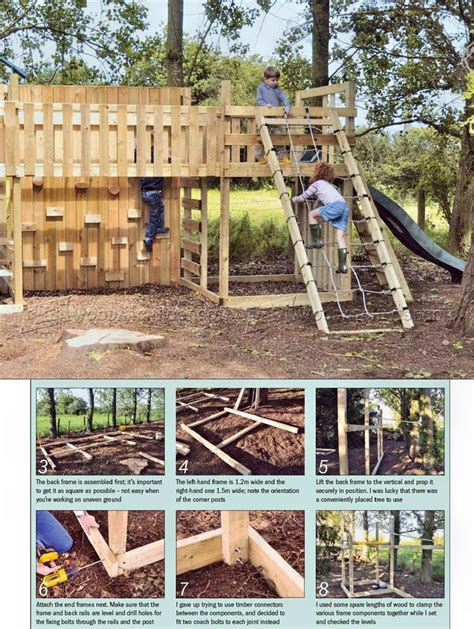 Childrens-Climbing-Frame-Plans