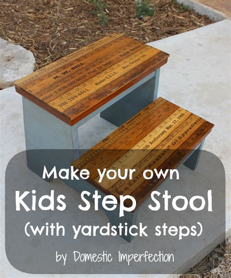 Childrens-Step-Stool-Chair-Plans